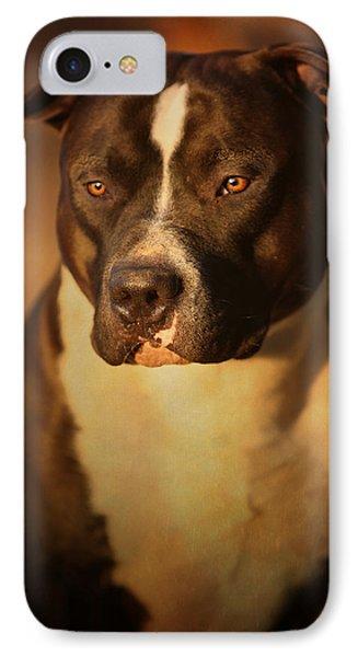 Proud Pit Bull IPhone Case