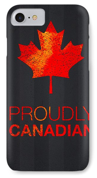 Proudly Canadian IPhone Case