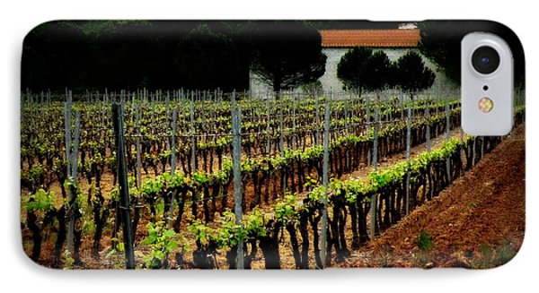 Provence Vineyard Phone Case by Lainie Wrightson