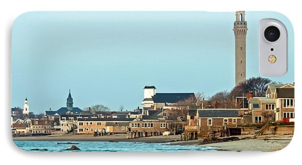 Provincetown Bay And Monument IPhone Case