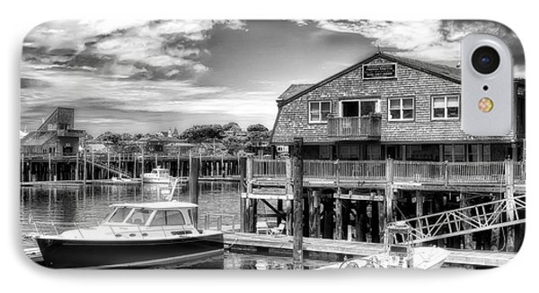 Provincetown Pier IPhone Case by Jack Torcello