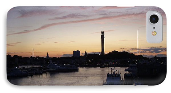 Provincetown Sunset IPhone Case by Robert Nickologianis