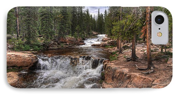 Provo River Falls IPhone Case by Jeremy Farnsworth