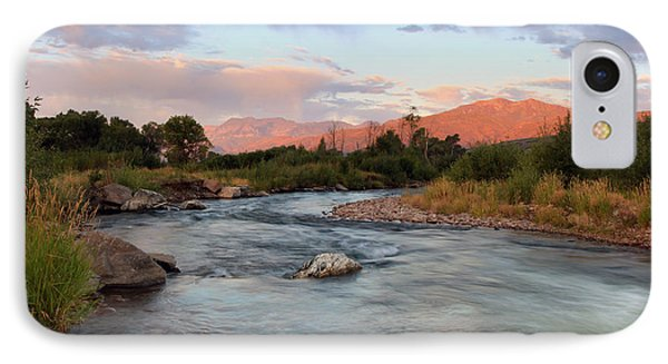 Provo River Sunrise IPhone Case by Johnny Adolphson