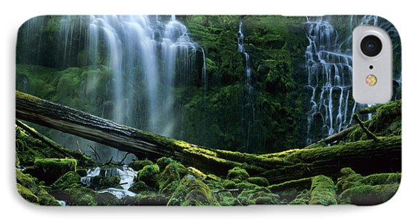Proxy Falls IPhone Case by Bob Christopher