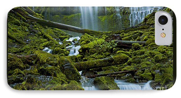IPhone Case featuring the photograph Proxy Falls by Nick  Boren