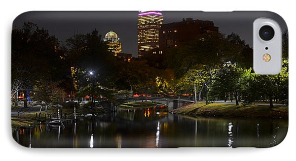 Prudential Over The Charles River IPhone Case by Toby McGuire