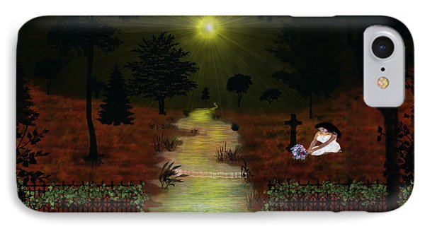 Psalm 23  IPhone Case by Michael Rucker
