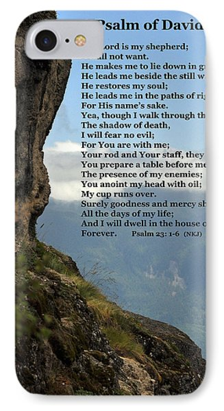 Psalm Of David IPhone Case by Kirt Tisdale