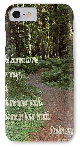 Psalm  - Paths IPhone Case