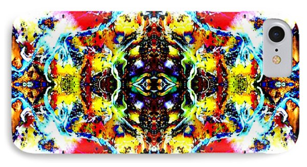 Psychedelic Abstraction IPhone Case