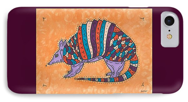 Psychedelic Armadillo IPhone Case