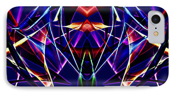 Psychedelic Bat N Wings IPhone Case by Gayle Price Thomas