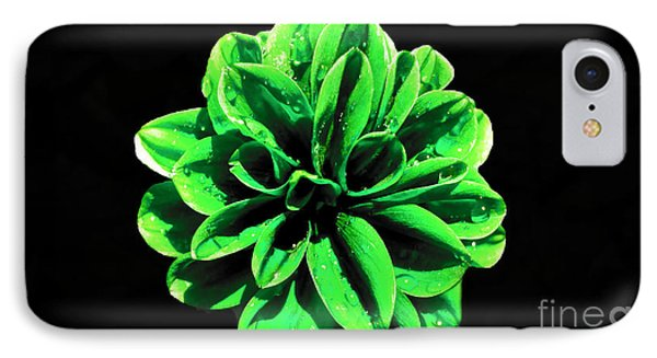 IPhone Case featuring the photograph Psychedelic Flower 3 by Sarah Mullin