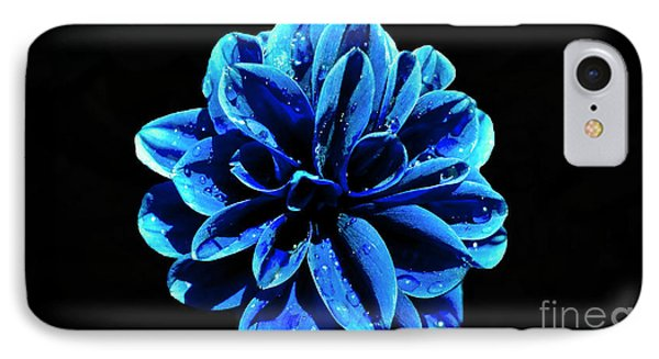 IPhone Case featuring the photograph Psychedelic Flower 4 by Sarah Mullin