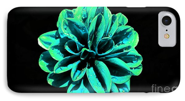 IPhone Case featuring the photograph Psychedelic Flower 5 by Sarah Mullin