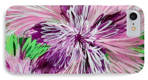 Psychedelic Flower IPhone Case