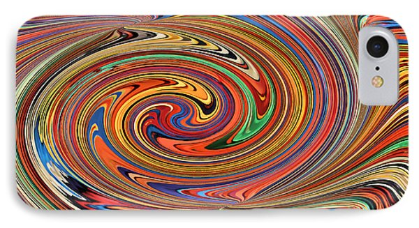 Psychedelic Phone Case by Kristin Elmquist
