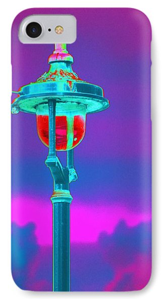 Psychedelic London Streetlight Phone Case by Richard Henne