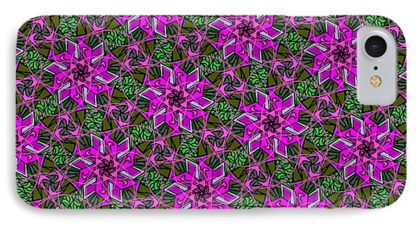 IPhone Case featuring the digital art Psychedelic Pink by Elizabeth McTaggart