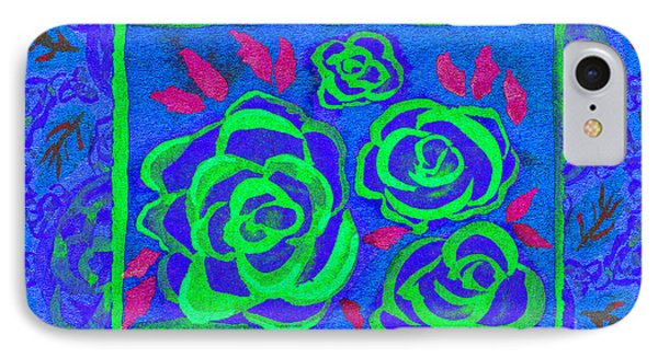 Psychedelic Roses - Summer IPhone Case by Beverly Claire Kaiya