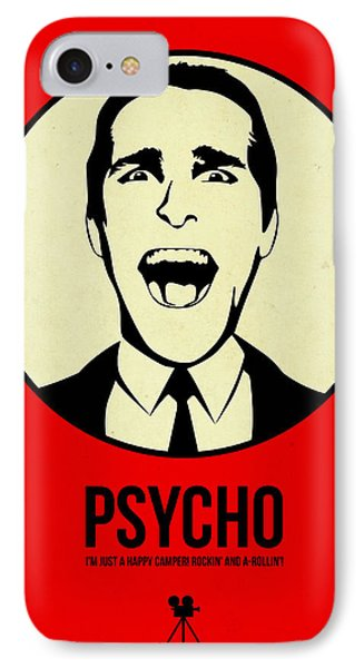 Psycho Poster 1 IPhone Case by Naxart Studio