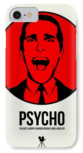 Psycho Poster 2 IPhone Case by Naxart Studio