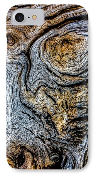 IPhone Case featuring the photograph Psychedelic Wood by Beverly Parks