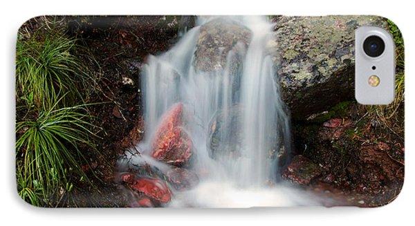 Ptarmigan Trail Waterfall No.2 IPhone Case by Daniel Woodrum