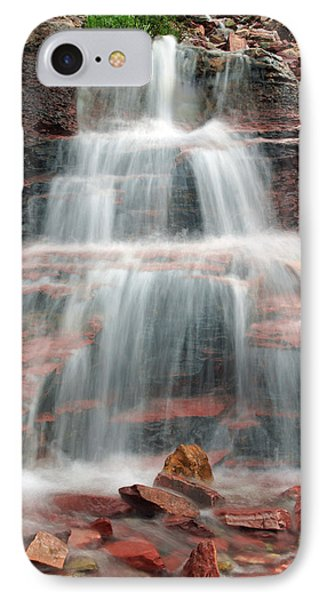 Ptarmigan Trail Waterfall No.4 IPhone Case