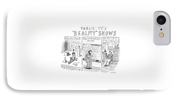 Public Tv's Reality Shows IPhone Case