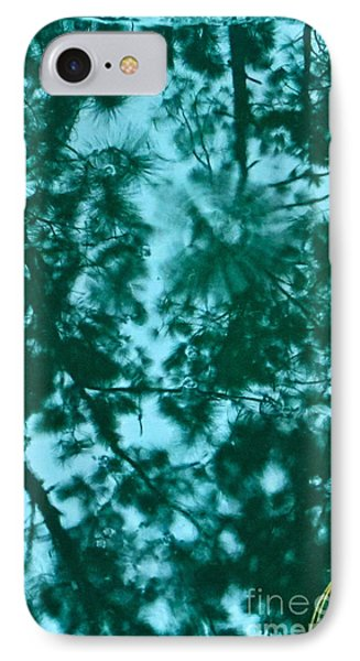Puddle Of Pines IPhone Case by Joy Hardee