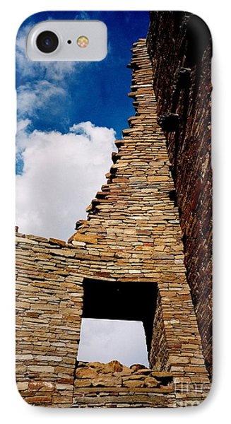 IPhone Case featuring the photograph Pueblo Bonito New Mexico by Jacqueline M Lewis