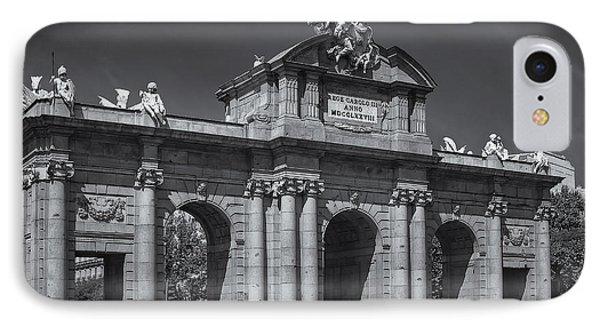 Puerta De Alcala Phone Case by Susan Candelario
