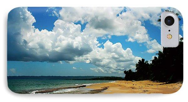 IPhone Case featuring the digital art Puerto Rican Beach by Kara  Stewart
