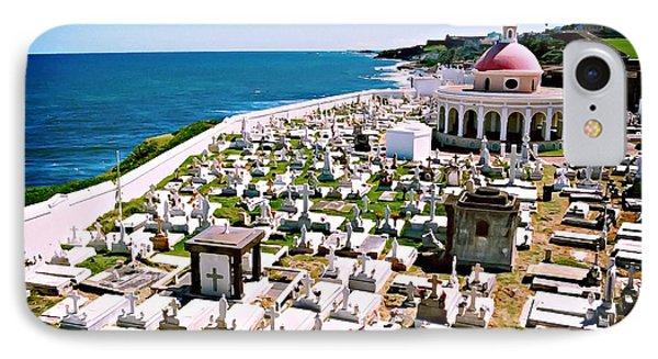 IPhone Case featuring the digital art Puerto Rican Cemetery by Kara  Stewart