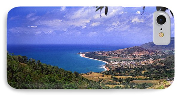 Puerto Rico Sea View Phone Case by Thomas R Fletcher