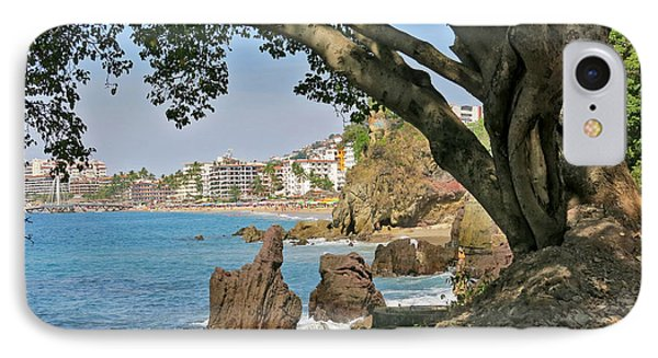 Puerto Vallarta From A Distance IPhone Case by Douglas Simonson