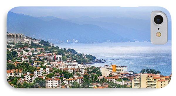 Puerto Vallarta On Mexican Coast Phone Case by Elena Elisseeva