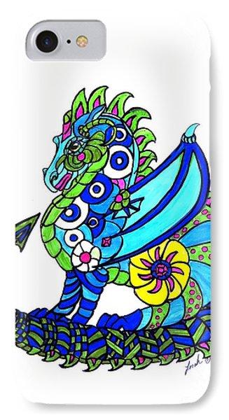 Puff The Magic Dragon IPhone Case