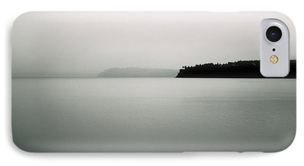 IPhone Case featuring the photograph Puget Sound Blue by Kandy Hurley