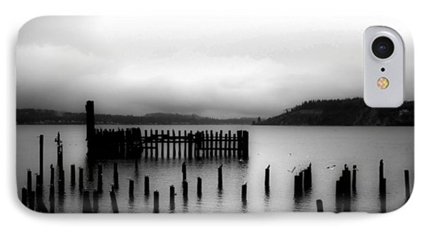 IPhone Case featuring the photograph Puget Sound Cold Morning by Kandy Hurley