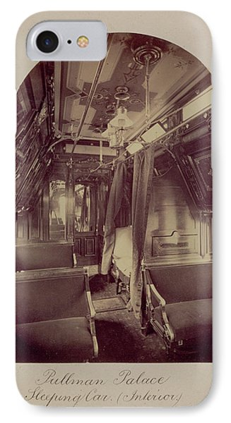 Pullman Palace Sleeping Car Interior Carleton Watkins IPhone Case