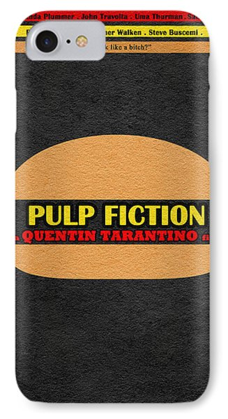 Pulp Fiction IPhone Case by Ayse Deniz