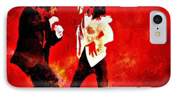 Pulp Fiction Dance 2 IPhone Case by Brian Reaves