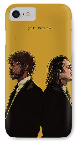Pulp Fiction IPhone Case by Jeremy Scott