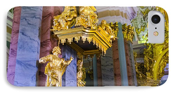 Pulpit - Cathedral Of Saints Peter And Paul - St Petersburg - Russia IPhone Case by Jon Berghoff