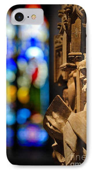 Pulpit Trinity Cathedral Pittsburgh Phone Case by Amy Cicconi