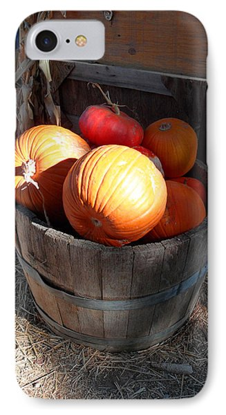 Pumpkin Barrel IPhone Case by Mark Barclay