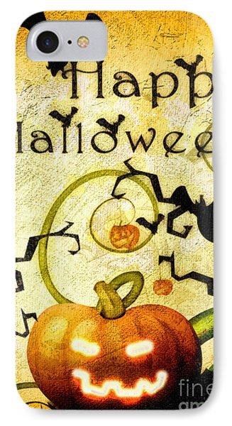 Pumpkin Phone Case by Mo T